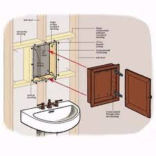 Medicine Cabinet Door Hinges Best 25 Recessed Medicine Cabinet Ideas On Pinterest Medicine