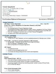 resume formats for engineers resume format freshers