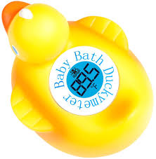 bathtub thermometer floating amazon com duckymeter the baby bath floating duck toy and bath