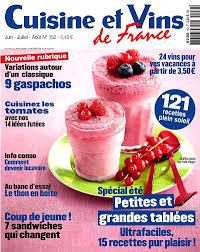 cuisines et vins achat magazine cuisine et vins de n 152 en numérique