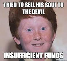 Ginger Snap Meme - because he s soul less get it red heads are soul less