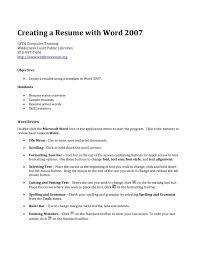 Resume Templates Word 2010 Free Httpsuploadwikimediaorgwikipediacommonsthu How To Make A Creative
