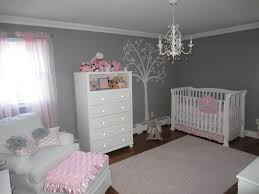 Pink And White Bedrooms - pink and gray classic and girly nursery project nursery