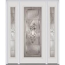 full glass entry door mmi door 60 in x 80 in heirloom master left hand full lite