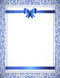 wedding borders blue wedding border clip page border and vector graphics
