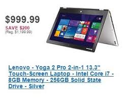 best black friday deals on i7 laptops lenovo yoga 2 pro 2 in 1 13 3