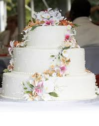 wedding cake flowers cascading cake flowers branch floral