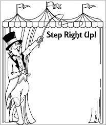 Get This Circus Coloring Pages Free Printable 51582 Circus Coloring Page