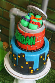 tmnt cake kara s party ideas mutant turtles party planning