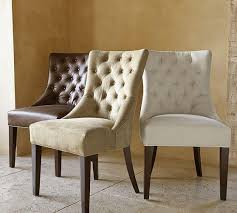 Brown Leather Chairs For Dining Amazing Brown Dining Chairs Fabric And Leather Within Beige
