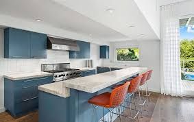 blue kitchen cabinets ideas beautifully colorful painted kitchen cabinets white and blue 27