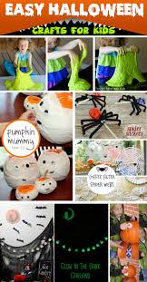 Make Your Own Halloween Decorations Kids 30 Easy Halloween Crafts For Kids In 2017