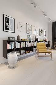 wall mounted bookcase interior design ideas
