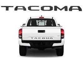 toyota tacoma tailgate carbon fiber tailgate letters inserts for 2016 2017 toyota tacoma