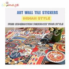 Diy Home Decor Indian Style Aliexpress Com Buy Lots Of 20pcs Indian Style Self Adhesive Tile