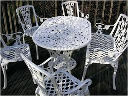 oval aluminum patio table white aluminum patio furniture comely park outdoor furniture set at