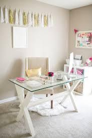 Home Decor Glass Best 25 Glass Office Desk Ideas On Pinterest Glass Desk Office