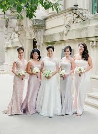 brides u0026 bridesmaids photos mismatched bridesmaid dresses in