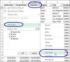 how to sort a pivot table dynamic date range filters in pivot table excel pivot tablesexcel