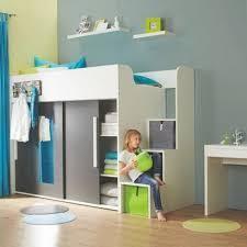chambre fille avec lit mezzanine chambre complete pour enfants ados avec lit mezzanine bureau et