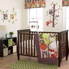 nursery beddings modern woodland crib bedding also woodland