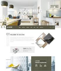 Interior Designer Description by 50 Interior Design U0026 Furniture Website Templates 2017