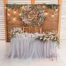Tulle Wedding Decorations Chair Covers Table Cloth Chair Sash Wedding Decorations Cover
