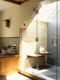 badezimmer mit dachschräge ideen badezimmer mit dachschräge natursteinwand
