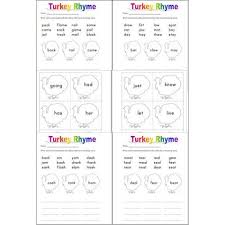 word turkeys a thanksgiving unit for word families sight