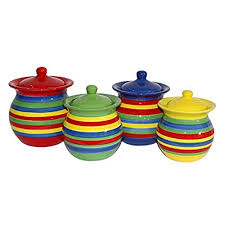 colored kitchen canisters colorful kitchen canisters