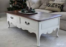 french coffee table ivory gold style