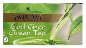 twinings green tea and earl grey 25 tea bags in grocery