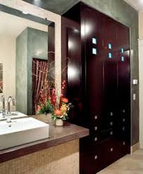 modern contemporary bathroom with ivory bathroom vanity with gray