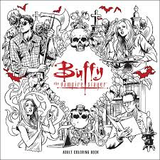 these upcoming buffy coloring books are slaying our hearts geek