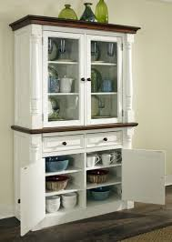 buffet cabinets with glass doors 2 piece china cabinet hutch house