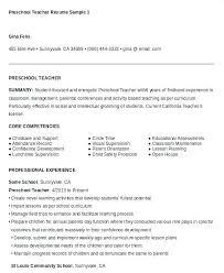 preschool resume template preschool resume exles megakravmaga