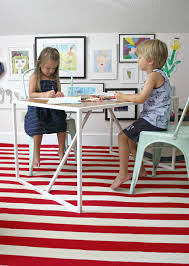 playroom table and chairs our playroom makeover with target s pillowfort collection emily a