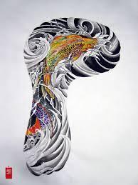 Koi Half Sleeve - koi designs sleeve cool tattoos bonbaden