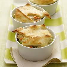 individual creamy chicken pot pies recipes weight watchers