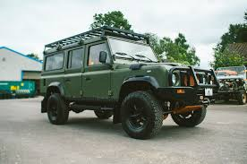 vintage range rover defender arkonik reveals its new project the land rover defender force d110