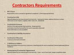 Contractors Resume Fha Streamlined K U0026 203 K Training Presents July 20 Ppt Download