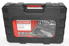 craftsman 220 pc mechanics tool set with case 36220 newest