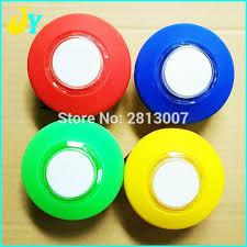edge lighting change color colorful lights ring led push button illuminated edge led automatic