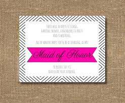 bridesmaid asking cards best friend as bridesmaid of honor by rockcandiedesigns