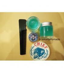 Sisir Chief jual chief pomade blue waterbased travel pack 1 2oz free sisir promo