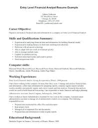 resume objective examples entry level accounting u2013 inssite
