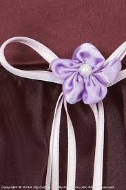 eggplant ribbon egg plant ribbon bow flower girl dress simple economical