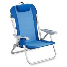 Flat Folding Chair 5 Position Backpack Beach Chair Bed Bath U0026 Beyond