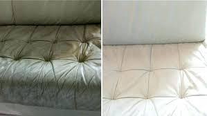 comment nettoyer un canapé en cuir blanc entretenir canape cuir comment nettoyer un canape en cuir noir