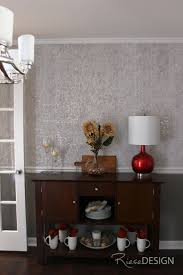 wallpaper dining room chair rail home design ideas
